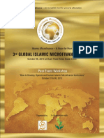 AlHuda CIBE - 3rd Global Islamic Microfinance Forum
