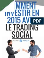 Comment Investir en 2015 Le Trading Social1