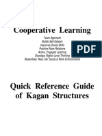 Cooperative Learning Kagan Quick Reference Guide