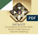 Katalog odlikovanja Srbije