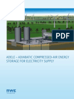 Adiabatic Compressed Air Energy Storage for Electricity Supply