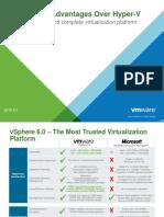 Vsphere 6.0 Advantages Over Hyper V