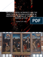 Sixteenth-Century Society Conference 2016, Brugge 18/07. 'The Schneeberg Altarpiece and the Rejection of Italian Illusionism in Protestant Painting at the Time of Martin Luther'