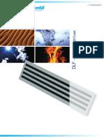 DLF Linear Slot Diffuser