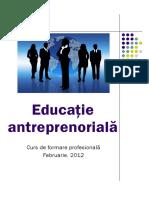Antreprenor - Curs