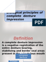 biological principles of impression