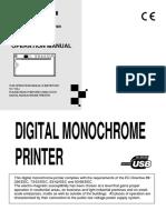 Printer Mitshubishi P93D