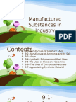 Chemistry - Chapter 9 (Form 5)Manufactured Substances In Industry