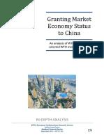 China Market Economy Status