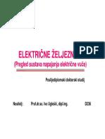 Pregled Sustava Elektricne Vuce