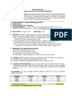 CV Tarun Das Fare and Tariff Fixation Expert May 2016