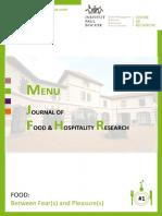 Menu Journal Food Hospitality Research1