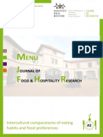 Menu Journal Food Hospitality Research2