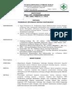 Sk Tentang Pemberian Informasi Kepada Masyarakat Lintas Sektor, Lintas Program Tentang Tujuan,Sasaran,Tupoksi,Dan Kegiatan Puskesmas