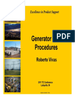 BO EP Generator Testing