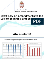 Draft Law on Amendments to the Law on Planning and Construction - Presentation_0