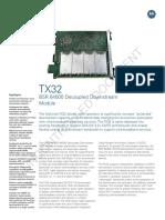TX32 Decoupled Downstream Module for BSR