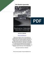 Um+Destino+ignorado+-+Agatha+Christie