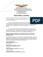 Designaciones FARD 2016