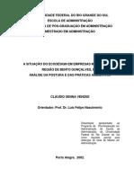A Situação Do Ecodesign Em Empresas Moveleiras Da Região de Bento Gonçalves, RS