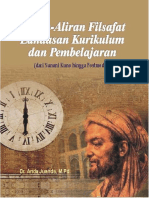 Aliran-Aliran Filsafat Landasan Kurikulum Dan Pembelajaran - Dari Yunani Kuno Hingga Postmodern (Dr. Anda Juanda, m.pd.)