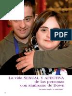 La Vida SEXUAL Y AFECTIVAde Las Personas Del Sindrome de Down