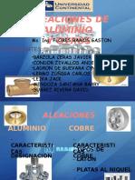 Aleación Alumnio(exposicion)