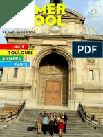 Report of Summer School France 2016