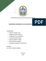 Proyecto de Investigación sobre la Seguridad Informática
