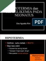 Kuliah Hipoglikemia Dan Hipotermia Pada Neonatus