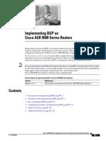 Implementing BGP on ASR 9K