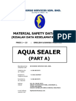 1 MSDS AquaSealer PartA Billingual