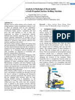 Failure Analysis & Redesign of Boom under Static Analysis of Self-Propelled Surface Drilling Machine