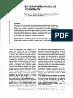 2001 Implicaciones Terp Conflictos