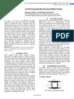 Optimum Design of 4X4 Symmetrically Structured Butler Matrix