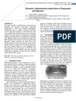 A Hybrid Approach for Biometric Authentication using Fusion of Fingerprint and Signature