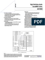 Analog Devices AD1989B Manual