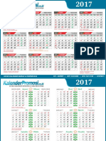 Download Kalender Promosi 2017 Lengkap