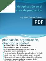 Metodo de Aplicación en El Area de Produccion
