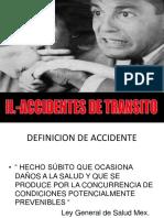 2 Accidentes de Transito
