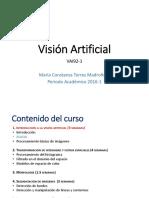 Breve resumen vision artificial