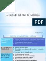 Auditoria 2016 - Desarrollo del plan + Riesgo