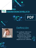 Trauma Craneoencefalico PEDIATRIA
