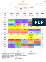 4c schedule