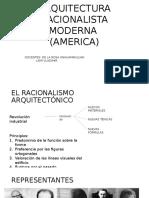 Arquitectura Racionalista Moderna en América
