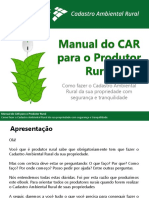 Manual Do CAR Para o Produtor Final