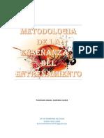 Metodologia de La Enseñanza y Entrenamiento