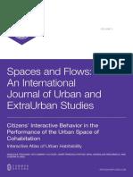 INVE_MEM_2012_132501 Citizens Interactive Behaviour in the Performance of the Urban Space of Cohabitacion. Interactive Atlas of Urban Habitability
