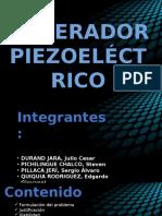 Generador Piezoelectrico