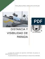 Distancia y Visibilidad de Parada Upload